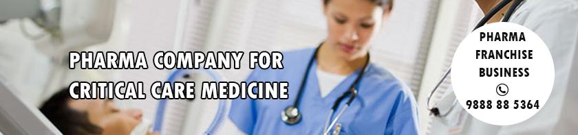 Pharma franchise company for critical care medicine